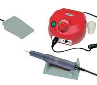 Фрезер для маникюра, комбинированного педикюра Escort 2 Pro красный, 40 000 об/мин с педалью вкл/выкл