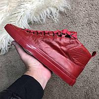 Мужские кроссовки Balenciaga High Red размер 43 Баленсиага красные, фото 1