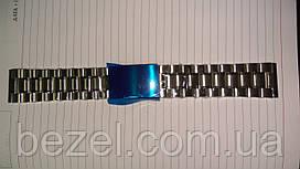 Браслет из нержавеющей стали литые звенья 22 мм