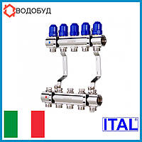 Коллектор для отопления ITAL 5 контуров