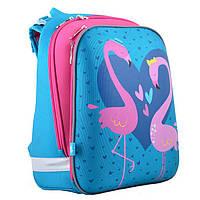 faaebbbf1bed Рюкзак (ранец) 1 Вересня школьный каркасный Yes 554501 Flamingo H-12 38*