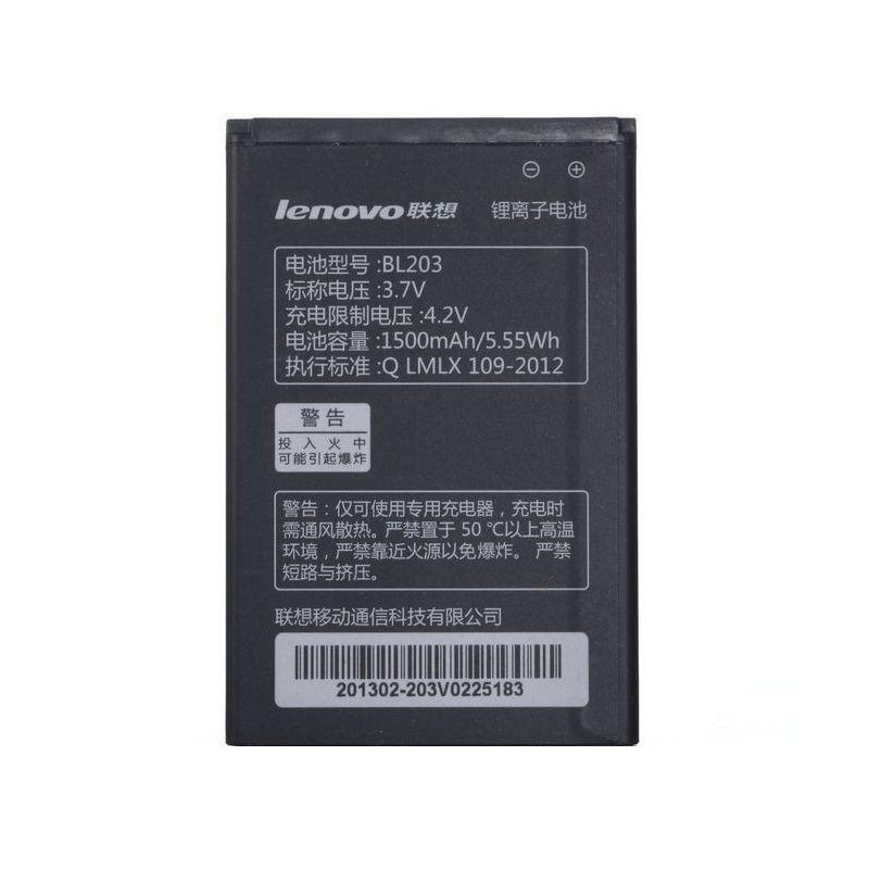 Аккумулятор на Lenovo BL203 1500 mAh Оригинал