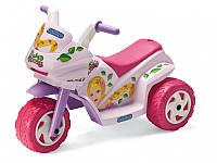 Детский трицикл Peg Perego Mini Princess 6V, мощность 35W, размер 69*44*48 см