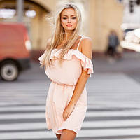 Стильна новинка - Витончене повсякденне плаття Dinaly >