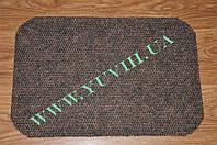 Придверный коврик по лучшей цене 80х50см. коричневый