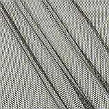 Тюль  сетка соты  коричневый 143128, фото 2