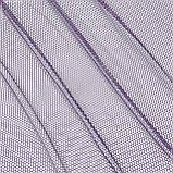 Тюль сітка стільники фіолет 143144, фото 2