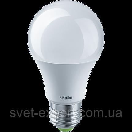 Лампа Navigator 61475 NLL-A60-10-12/24-4K-E27 світлодіодна, низьковольтна, фото 2
