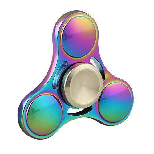 Спиннер разноцветный метал хамелеон спинер #101012
