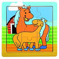 Пазл - Лошадки Bino (88019)