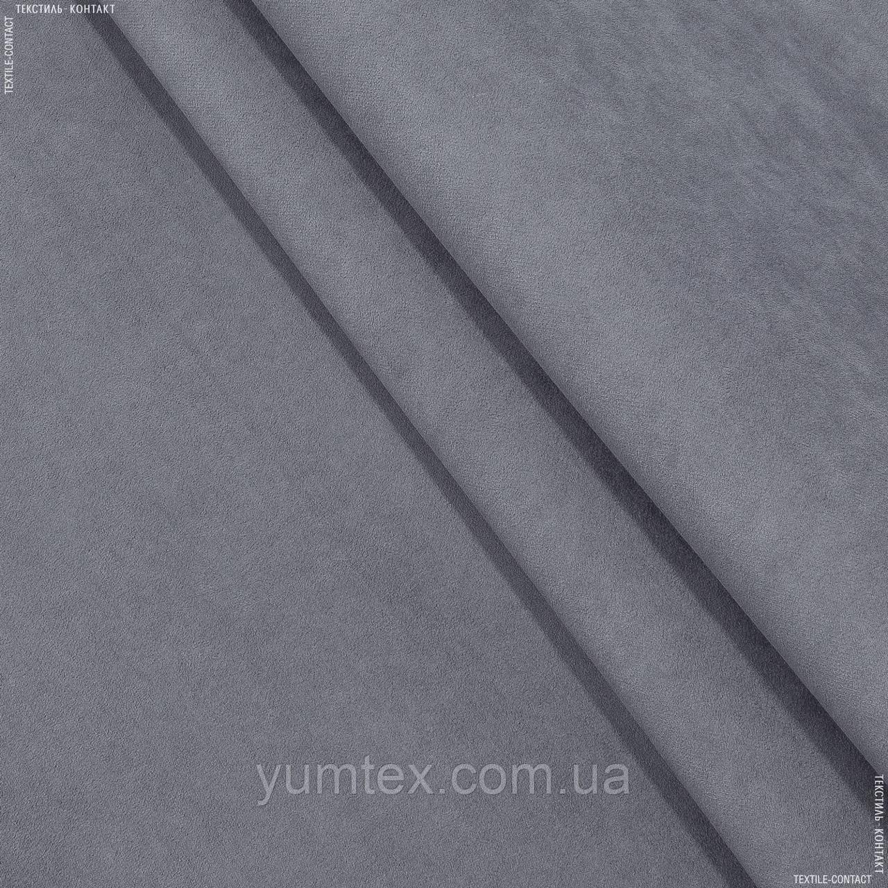 Замша  суэт/suet /т.сизый 141424