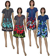 Новые тренды в домашней одежде для женщин - летние платья-халаты!