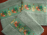Полотенце махровое для кухни 40*60, Ягоды, Пакистан