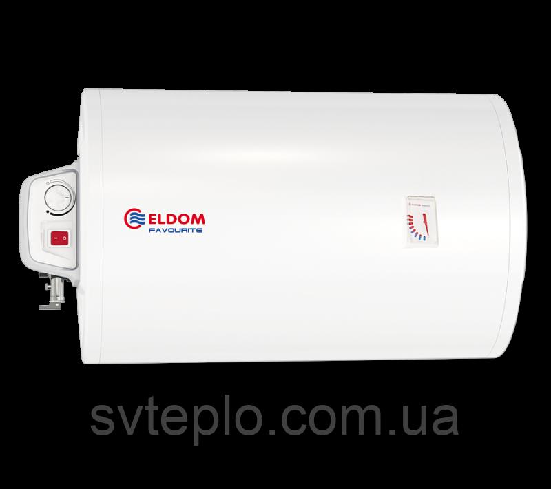 Электрический водонагреватель Eldom Favorite 80 Slim (горизонтальный)