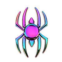 Спиннер разноцветный метал паук спинер #101002