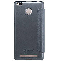 Чехол-книжка Nillkin Sparkle case Xiaomi Redmi 3s/3 pro Black, фото 1