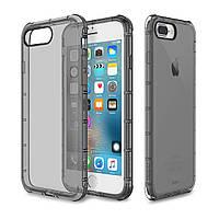 Чехол-накладка Rock TPU Case Fence series iPhone 7 Plus Transparent/Black