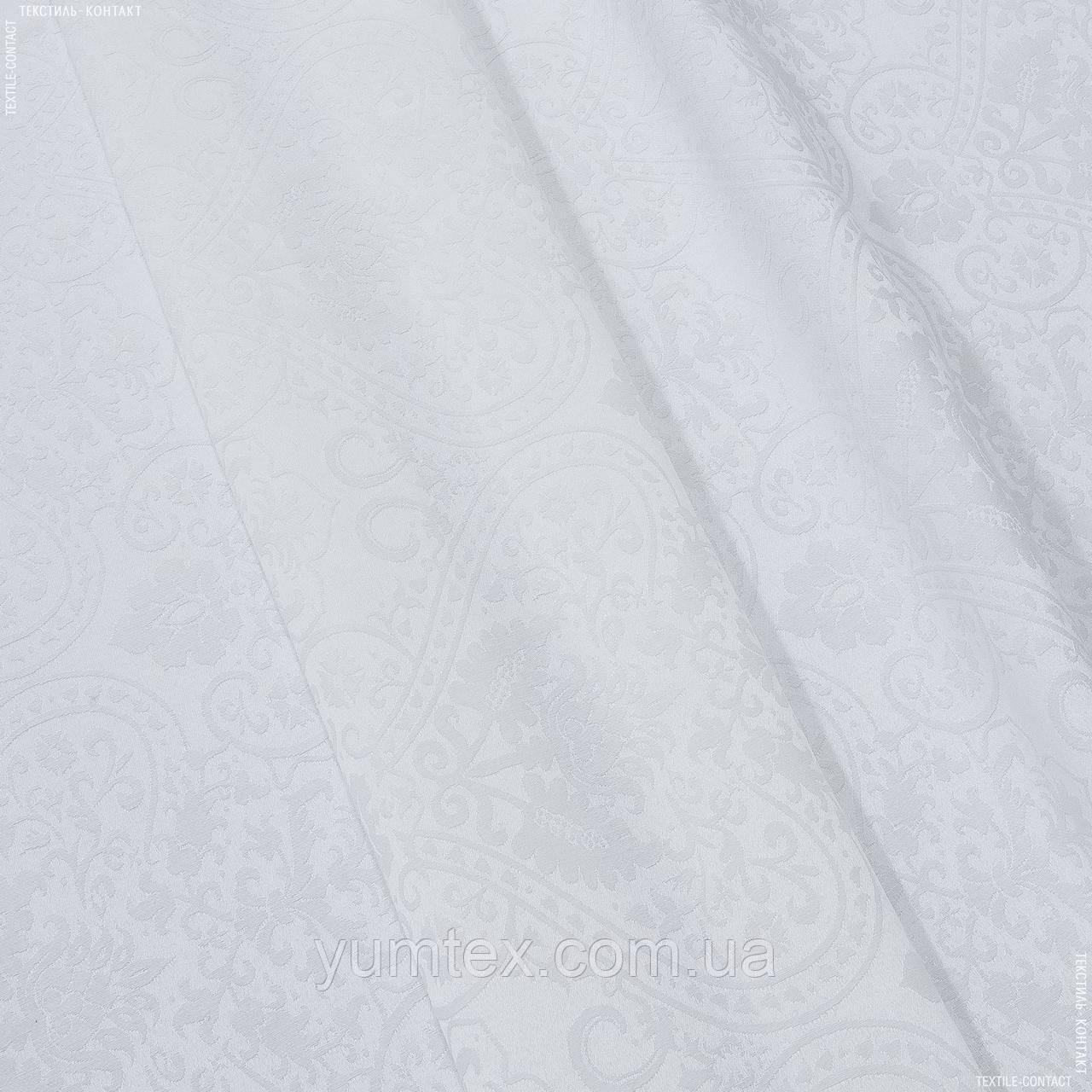 Декоративная ткань  юджина  белый 139258