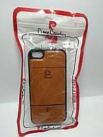 Чохол Pierre Cardin для телефону iPhone 5 / 5s  коричневий