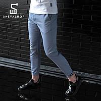 Легкие брюки чинос мужские beZet classic '18, серые, фото 1