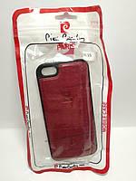 Чохол Pierre Cardin для телефону iPhone 5 / 5s червоний
