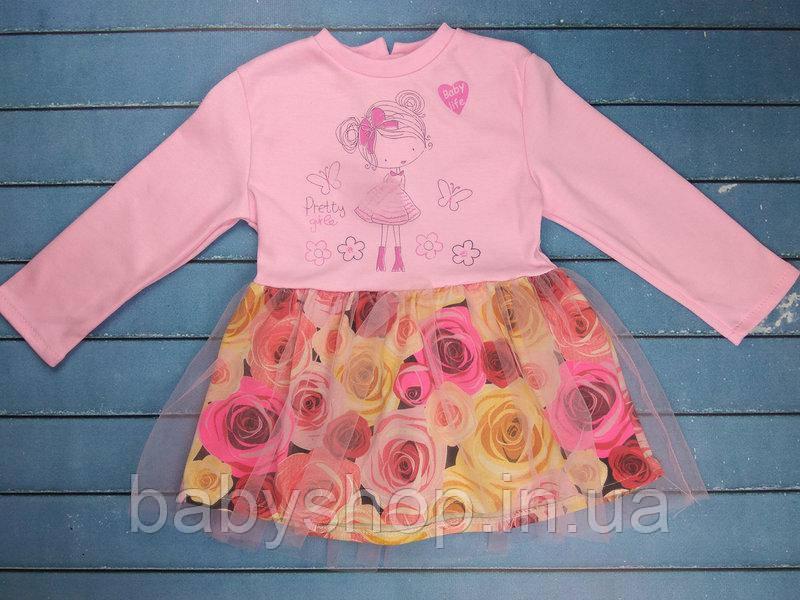 """Платье на девочку """"Лилу"""" 1. Размер 26 (86см), 28 (98см), 30 (104см), 32 (122см)"""