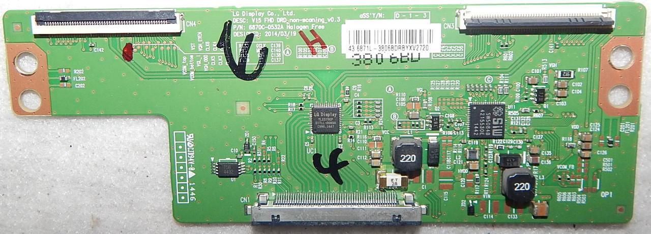 Текон 6870C-0532A для телевизора Sharp LC43CFE5100E
