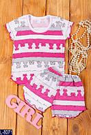 Пижама L-8071 (110, 122, 98, 86) — купить Детская одежда оптом и в розницу в одессе 7км