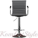 Барный стул Bar grey plate, фото 2