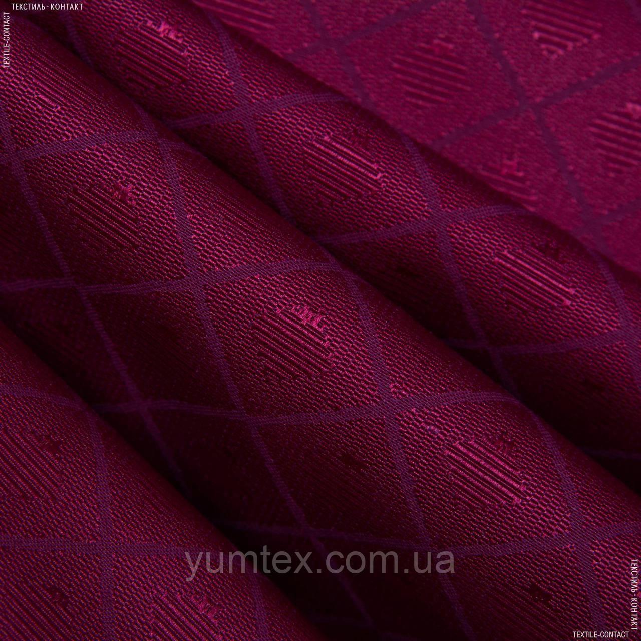Скатертная ткань  tisa/тиса  бордо 95533