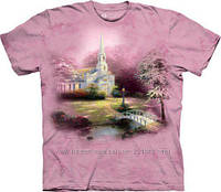 Футболка The Mountain Thomas Kinkade - Hometown Chapel