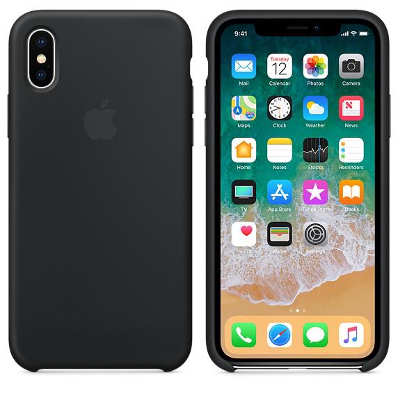 Лучший чехол для iPhone X  silicone case. 100% оригинальное качество. Отправка без предоплаты.