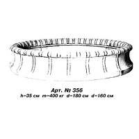 Бассейн фонтана D%3D160 см, D%3D180 cм, Н%3D35 см