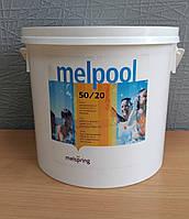 Длительный хлор Melpool 90/200,  в таблетках по 200гр, 5кг