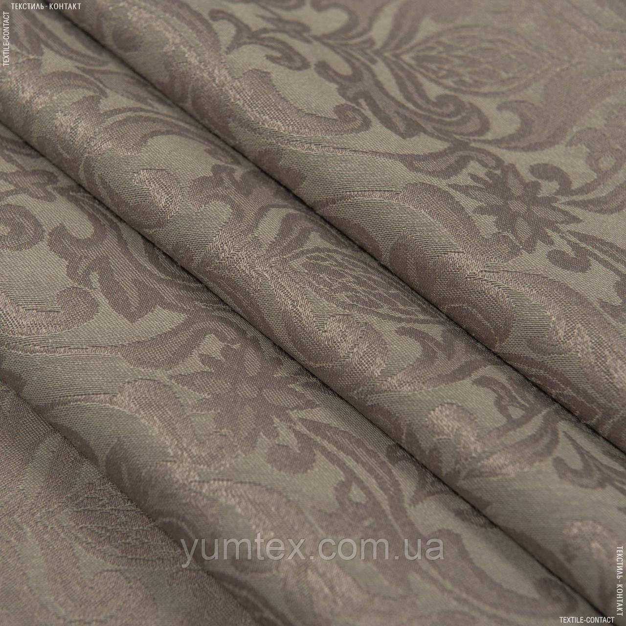 Ткань скатертная ingrid т.беж 122822