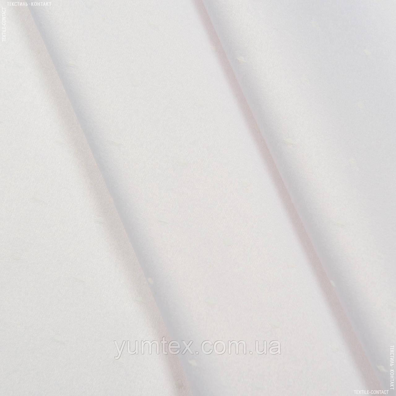 Ткань скатертная siene белый (розов.) 123556
