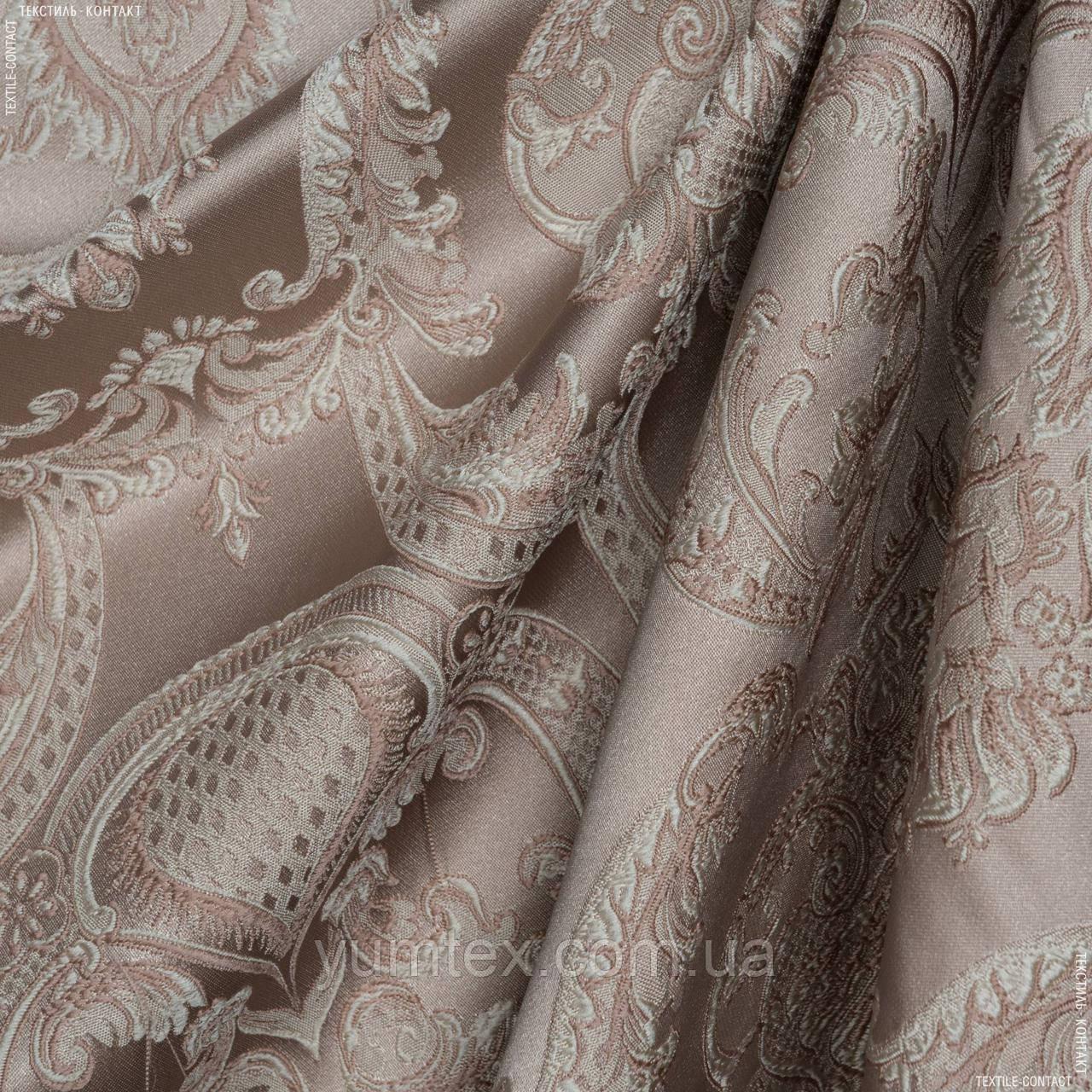 Декоративная ткань (купон) астория  св.беж 138146