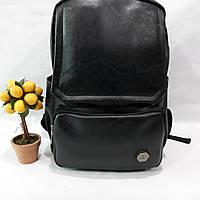 Рюкзак мужской с карманом для ноутбука. Стильный и удобный аксессуар. Эко - кожа.