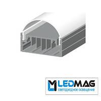 Комплект профилей для светодиодной ленты накладной LN-50 (без линзы)