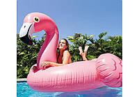 """56288 Надувной плот """"Большой Фламинго"""" 218х211х136 см, от 3 лет"""