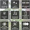 Душевые двери  Andora Relax 120x200 скло matzone, фото 3