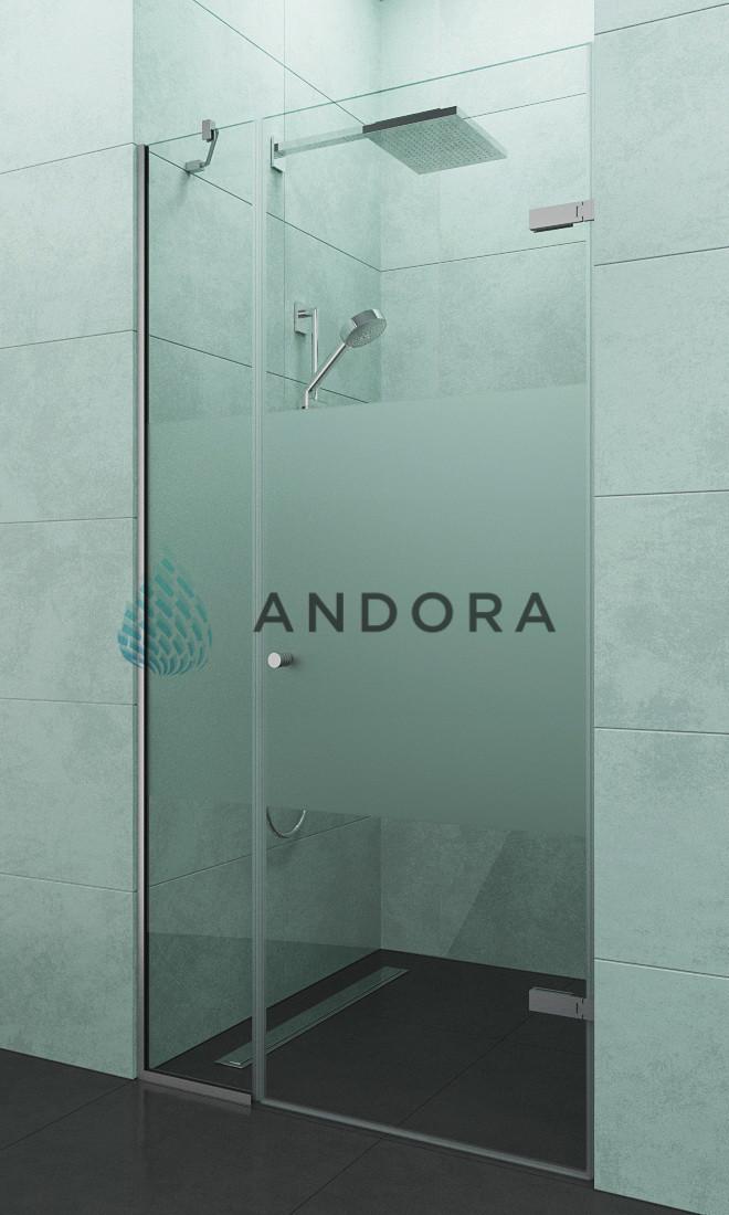 Душевые двери Andora Relax 100x200 стекло matzone