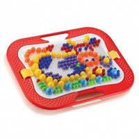Детская пластиковая мозаика