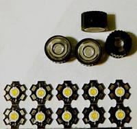 Светодиод 3 Вт (3 W) белый холодный, 15000К, 200-210 Лм (Lm).