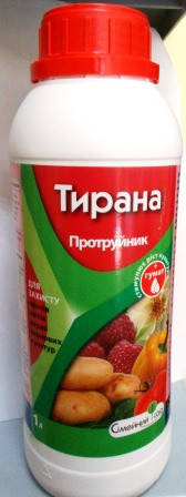 Протруйник Тирана 1л (100кг картоплі)