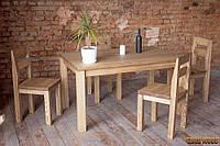 Стол деревянный обеденный W-1, ясень или дуб, (Ш1800* В760 * Г900)