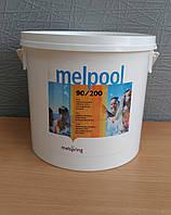 Длительный хлор Melpool 90/200,  в таблетках по 200гр, 50кг