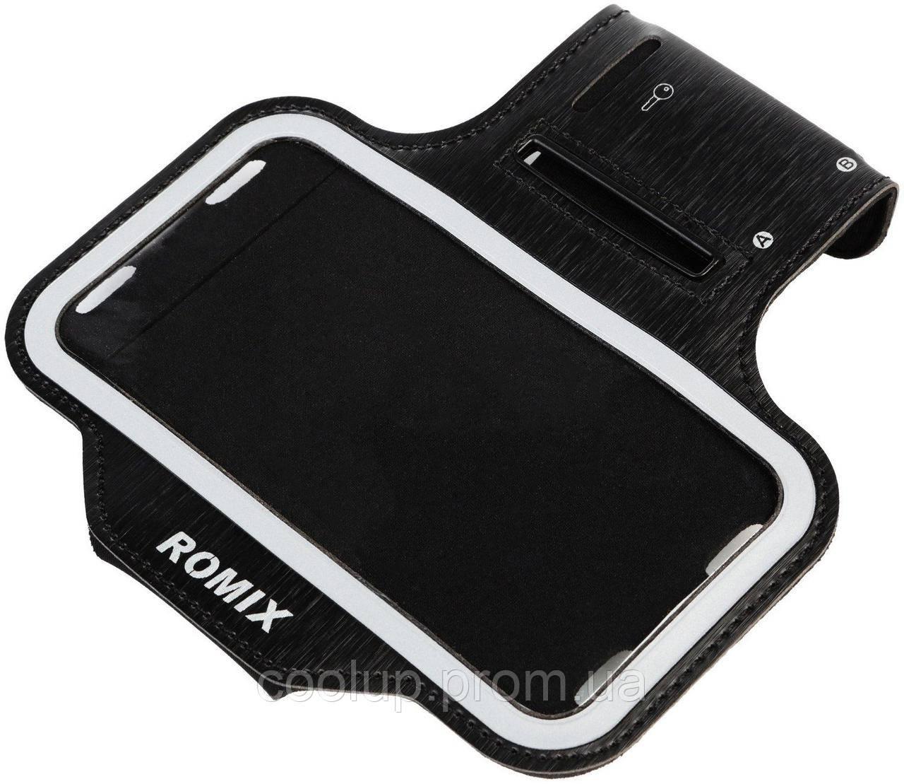 Чехол на руку Romix RH07 Touch Screen Armband Case 4.7 Black, фото 1