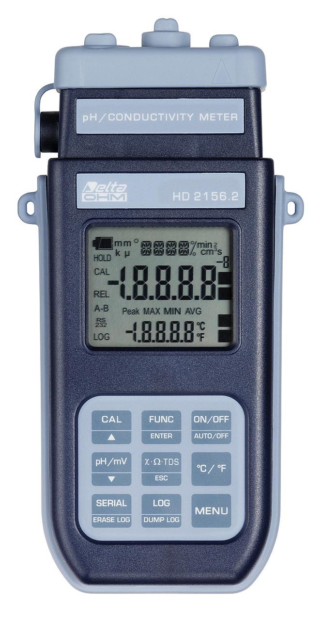 Delta OHM HD-2156.2 (рН, ОВП-метр/ Кондуктометр/ Солемір/ Термометр