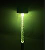 Грунтовой светильник на солнечной батарее RGB металлический с выключателем Lemanso CAB117, фото 3